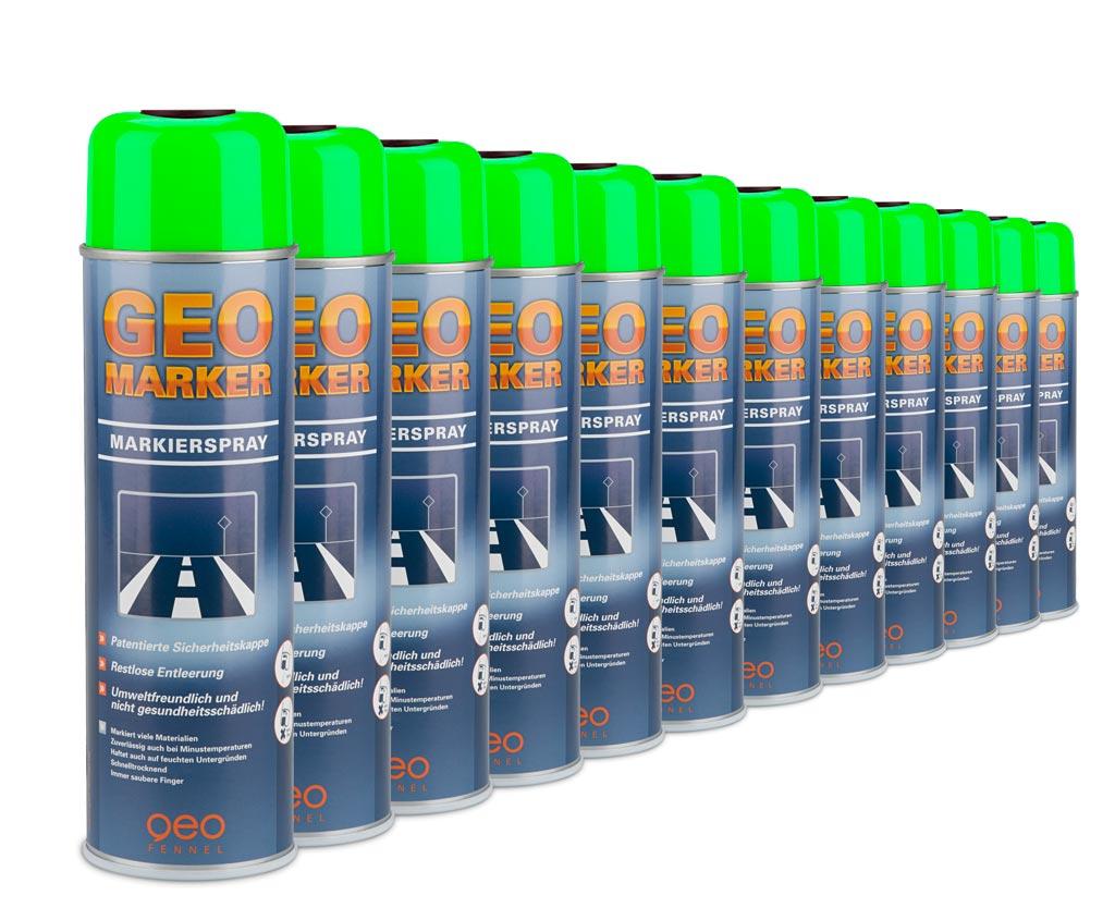 Sklepy Laserowe Farba Do Znakowania 360 Odblaskowa Zielona 12 Szt